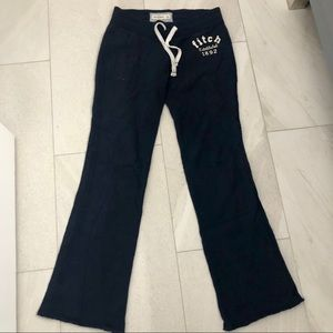 Abercrombie & Fitch Kids Navy Blue Sweatpants